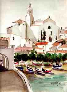 vue de Port Doguer - 1985.