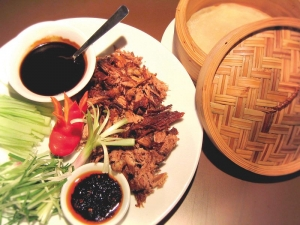 Crispy aromatic duck !