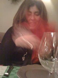 Anna ..une italienne heureuse d'avoir découvert S'Alqueria..