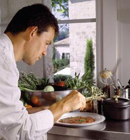 Patrick en cuisine