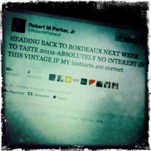 robert parker, bordeaux primeurs 2011,