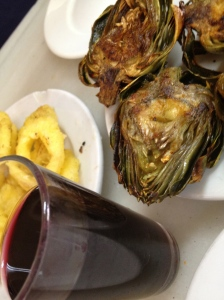 calamares a la romana Restaurant Barcelona