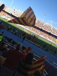 Barcelona; Montjuich: USAP- Stade Toulousain