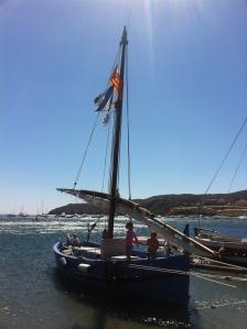 Barca Catalana Trobada de vela Llatina - Cadaqués.