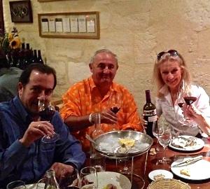 Bordeaux 2012 - Juan Carlos - Ivo - Dany Rolland.