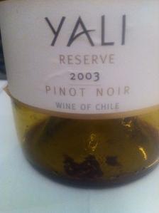 Yali Reserve Pinot Noir