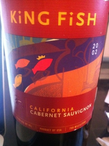 King Fish; Cab Sauv 2002